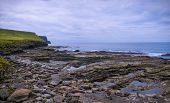 pic of cliffs moher  - Low tide at Cliffs of Moher County Clare - JPG
