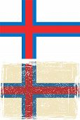 pic of faroe islands  - Faroe Islands grunge flag - JPG