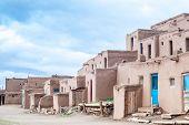 image of pueblo  - Adobe settlement  - JPG