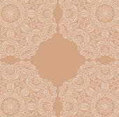 picture of lace  - White vector lace background - JPG