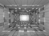 pic of three-dimensional-shape  - Illustration of abstract mosaic three - JPG