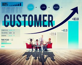 foto of loyalty  - Customer Client Consumer Satisfaction Service Loyalty Concept - JPG