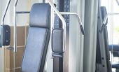 Gym Exercise Weights Machine poster