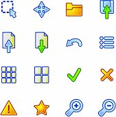 Colourful Viewer Icons