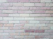 A Red Brick Wall Or Masonry Rectangle Background poster