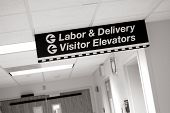 picture of obgyn  - Hospital Signs leading to Labor  - JPG