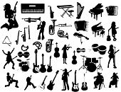 stock photo of sax  - Music instruments - JPG