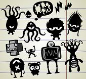 picture of microorganisms  - ink freaks - JPG