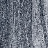 Migmatitic Gneiss Migmatite Rock Bands Pattern, Grey Light Dark Banded Granite Texture Macro Closeup poster