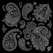 set of paisley