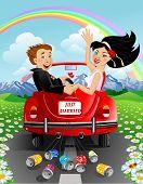 Постер, плакат: Просто семейная пара