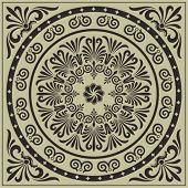 rosette vector, simply change any color as you wish