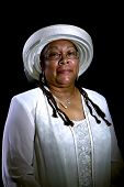 stock photo of matron  - Portrait of a Handsome African - JPG
