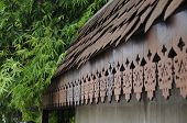 Traditional Malay Wood Fascia Board