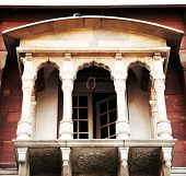 stock photo of gurudwara  - Gurudwara Sis Ganj Sahib in Old Delhi - JPG