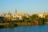 cityscape of Sevilla, Spain