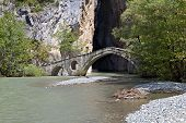 Portitsa gorge in Greece