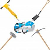image of power-shovel  - A Jack Hammer - JPG