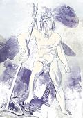 picture of poseidon  - Poseidon  - JPG
