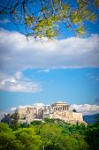 foto of akropolis  - Beautiful view of ancient Acropolis Athens Greece - JPG