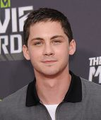 LOS ANGELES - APR 14:  Logan Lerman arrives to the Mtv Movie Awards 2013  on April 14, 2013 in Culve