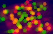 Green And Gold Bokeh