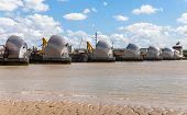 picture of movable  - The Thames Barrier  - JPG