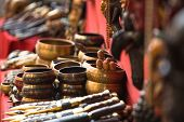 stock photo of handicrafts  - Handicrafts in Nepal - JPG