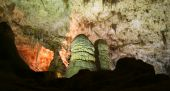 picture of carlsbad caverns  - A Glowing Cavern Carlsbad Caverns National Park New Mexico - JPG