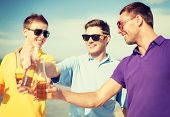 image of bachelor party  - summer - JPG