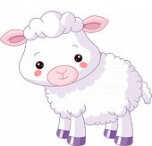 stock photo of lamb  - Farm animals - JPG