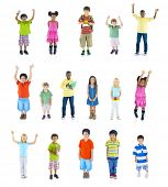 pic of arms race  - Group of Children - JPG