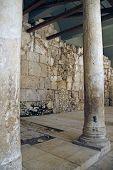 image of cardo  - Ruins of the ancient Roman street Cardo Jerusalem Israel - JPG