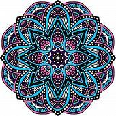 image of ottoman  - Mandala - JPG