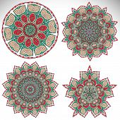 picture of ottoman  - Mandala - JPG