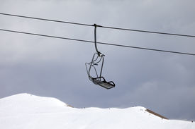image of lifting-off  - Chair lift and off - JPG