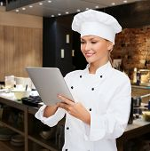 stock photo of pastry chef  - cooking - JPG