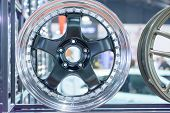 picture of alloys  - Magnesium alloy wheel or mag wheel or max wheels are manufactured using casting but some are forged - JPG