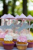 foto of ombres  - Dessert table for a party - JPG