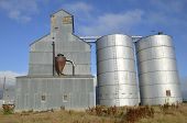stock photo of auger  - An old elevator - JPG