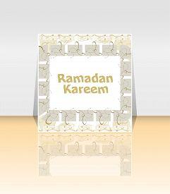 pic of ramadan calligraphy  - Calligraphy of Arabic text of Ramadan Kareem for the celebration of Muslim community festival - JPG