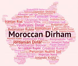 picture of dirhams  - Moroccan Dirham Meaning Morocco Dirhams And Coinage - JPG