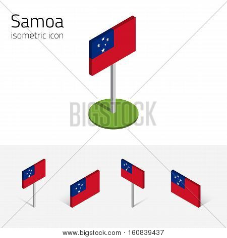 Samoan flag Independent