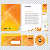 stock photo of booklet design  - Template for Business artworks - JPG