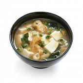 Постер, плакат: Мисо суп японская еда