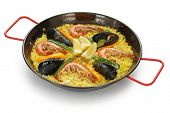 paella , spanish food