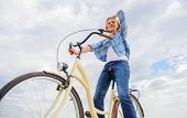 Most Satisfying Form Of Self Transportation. Cycling Gives You Feeling Of Freedom And Independence.  poster