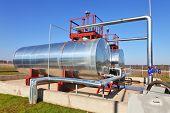 image of cistern  - Fuel storage cistern - JPG
