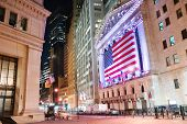 NEW YORK CITY - AUG 8: Wall Street, a metonymy for the
