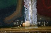 Restoration: Close Up Of A Painting Final Retouch poster
